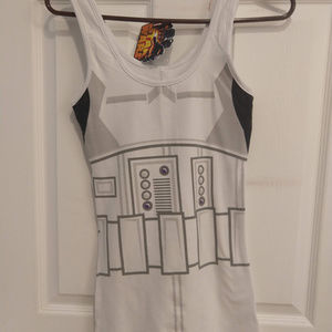 Stormtrooper Tank top Mighty Fine/Think Geek NWT